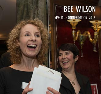 Bee Wilson, Special Commendation 2015