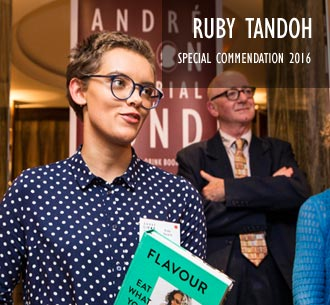 Ruby Tandoh Special Commendation 2016