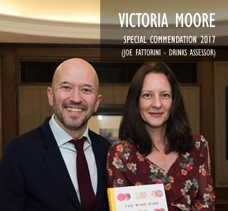 Victoria Moore Special Commendation 2017