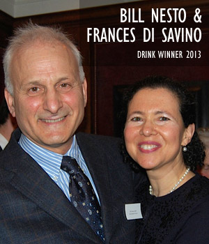 Bill Nesto and Frances Di Savino, Drink Winner 2013