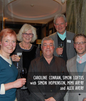Caroline Conran, Simon Loftus with Simon Hopkinson, Mimi Avery and Alex Avery