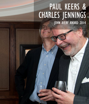 Paul Keers & Charles Jennings, John Avery Award 2014