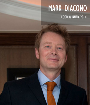 Mark Diacono, Food Winner 2014