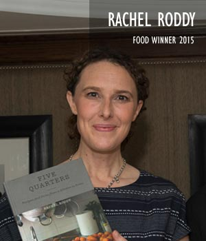 Rachel Roddy, Food Winner 2015