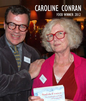 Caroline Conran, Food Winner 2012