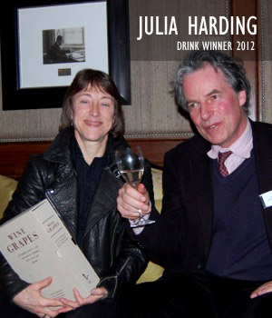 Julia Harding, Drink Winner 2012